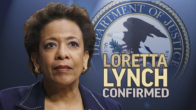 Loretta Lynch Confirmed