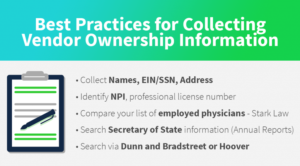 Healthcare Vendor Data Information Collection