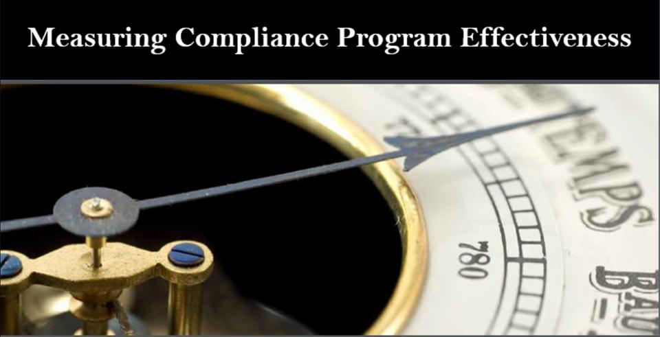 OIG Measuring Compliance Program Effectiveness