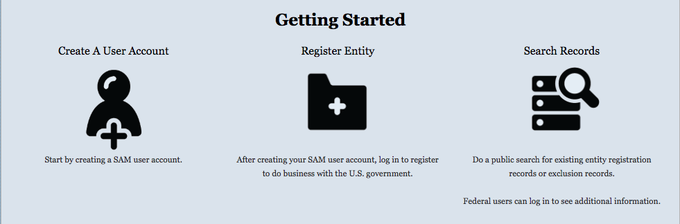 How to Get Started Searching SAM.gov