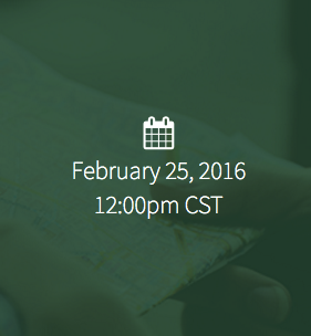 February 25, 2016, 12:00 PM CST