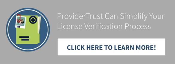 license verification
