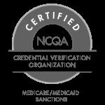 NCQA Certified Credential Verification Organization